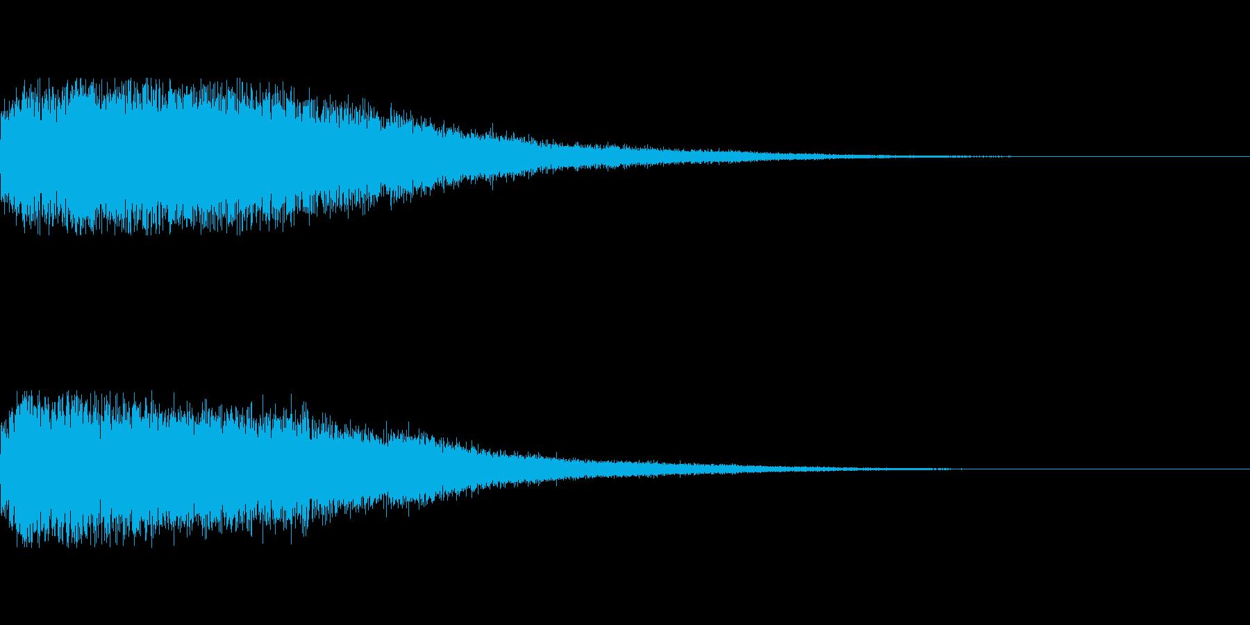 [タラララ]パラメータUP(豪華)の再生済みの波形