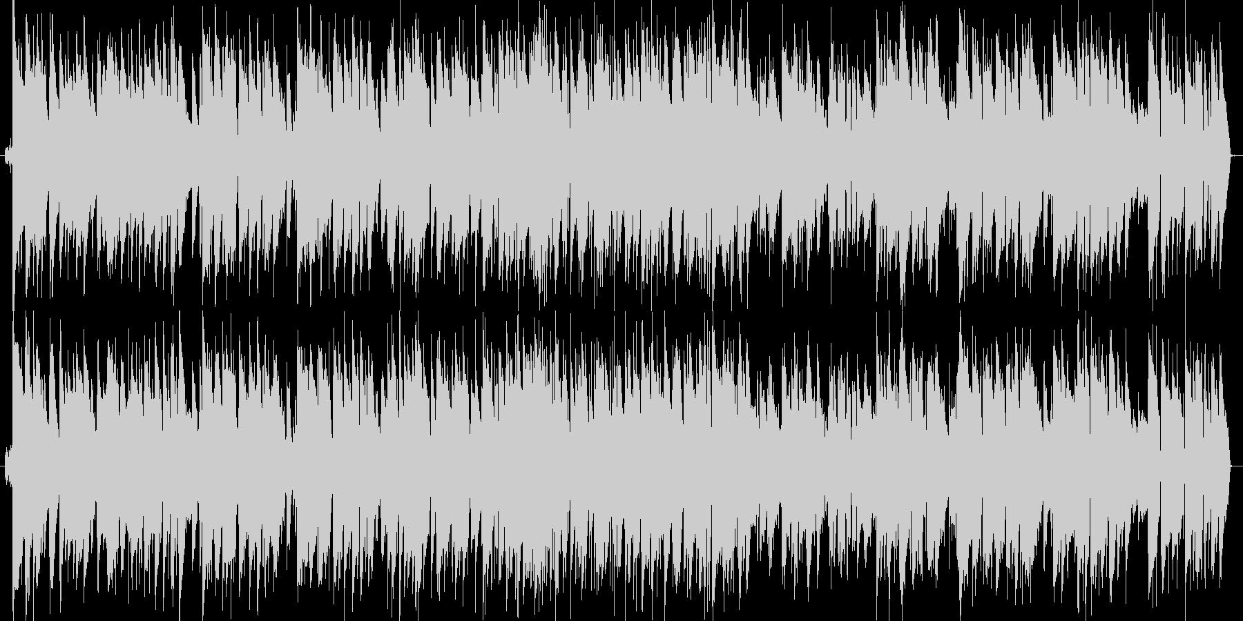 赤とんぼのジャズピアノの未再生の波形