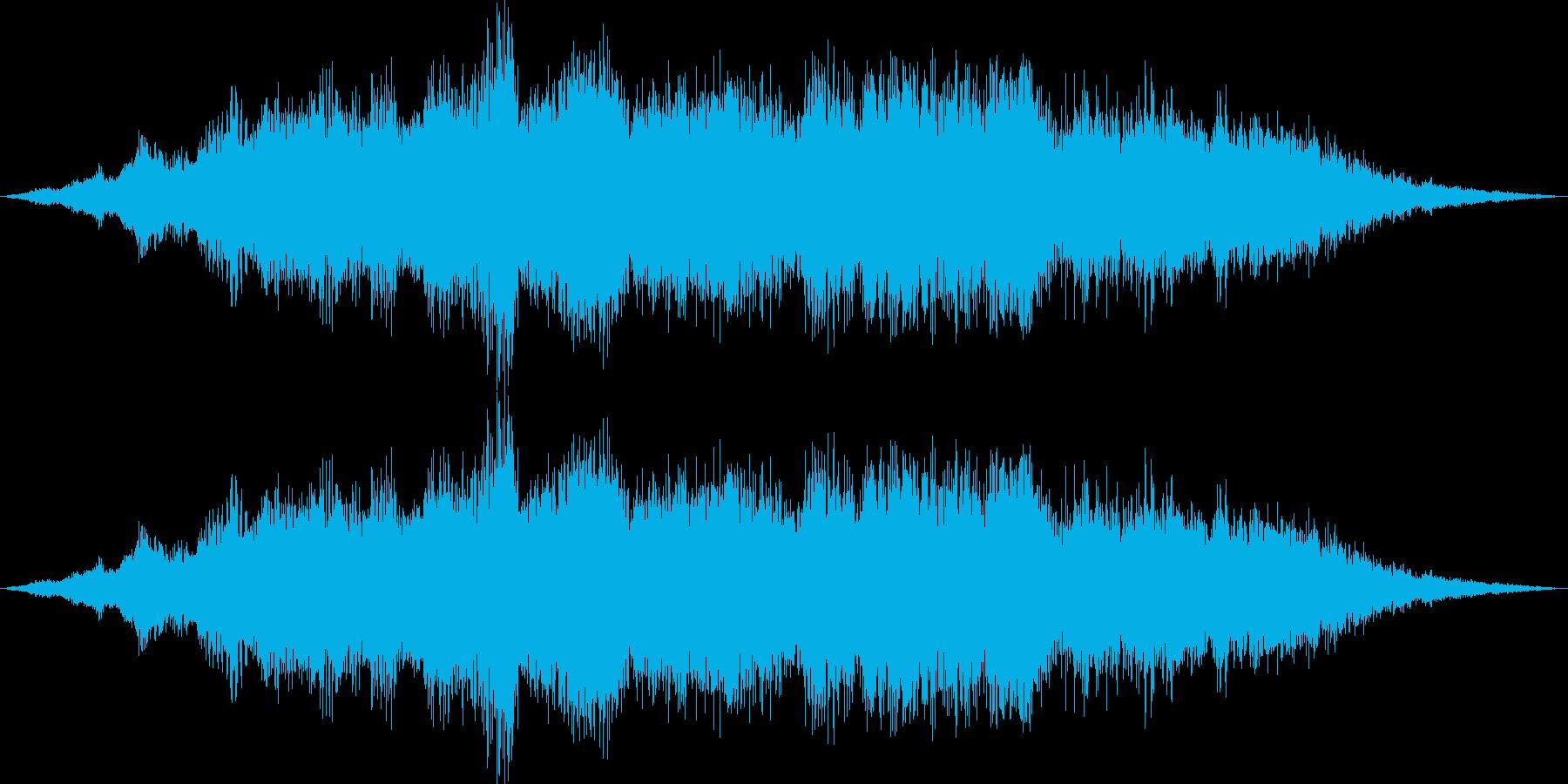 コンサート会場。弦楽器のチューニング風…の再生済みの波形