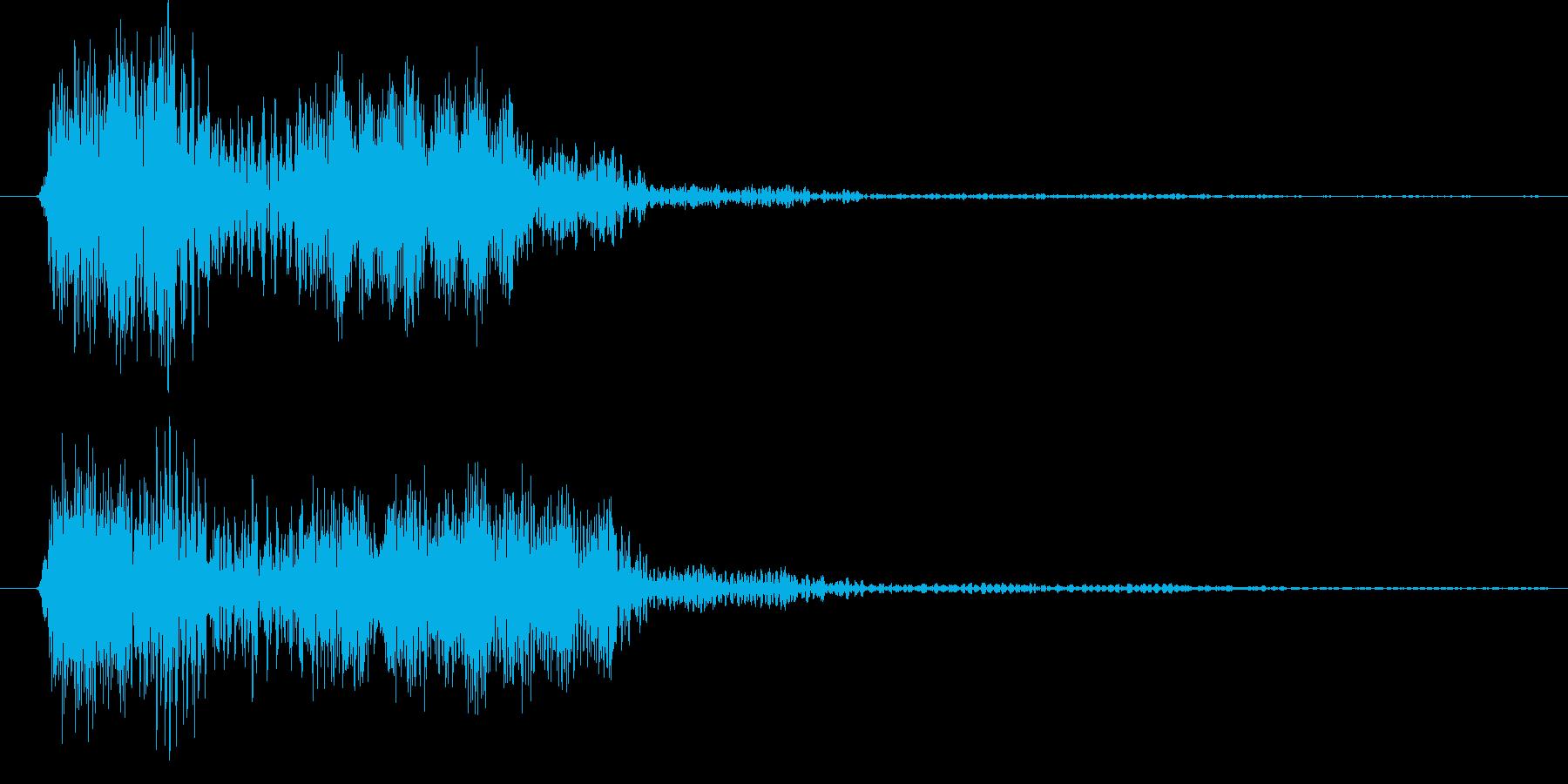 ノイズを意識した短いシーン効果音です。の再生済みの波形