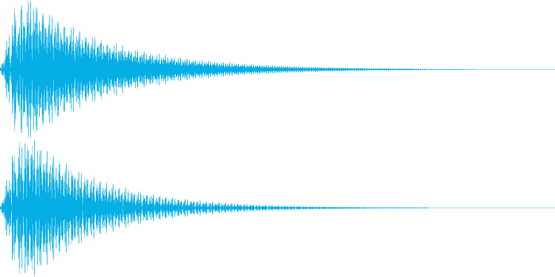 ボタン・操作音9の再生済みの波形
