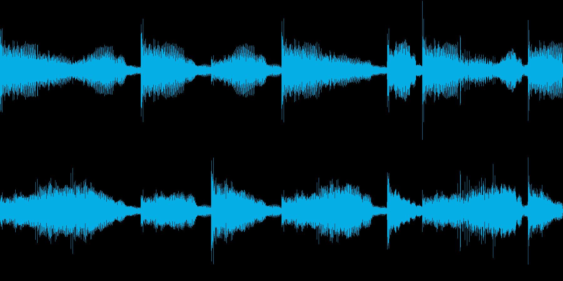 Hiphop デジタル RAP VOXの再生済みの波形
