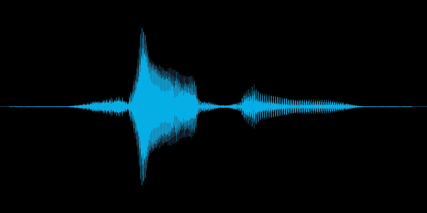 7(せぶん)の再生済みの波形