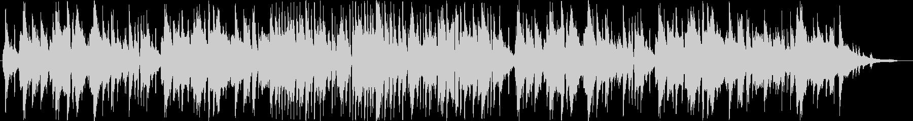 フランス・ジャズアコーディオンのワルツの未再生の波形