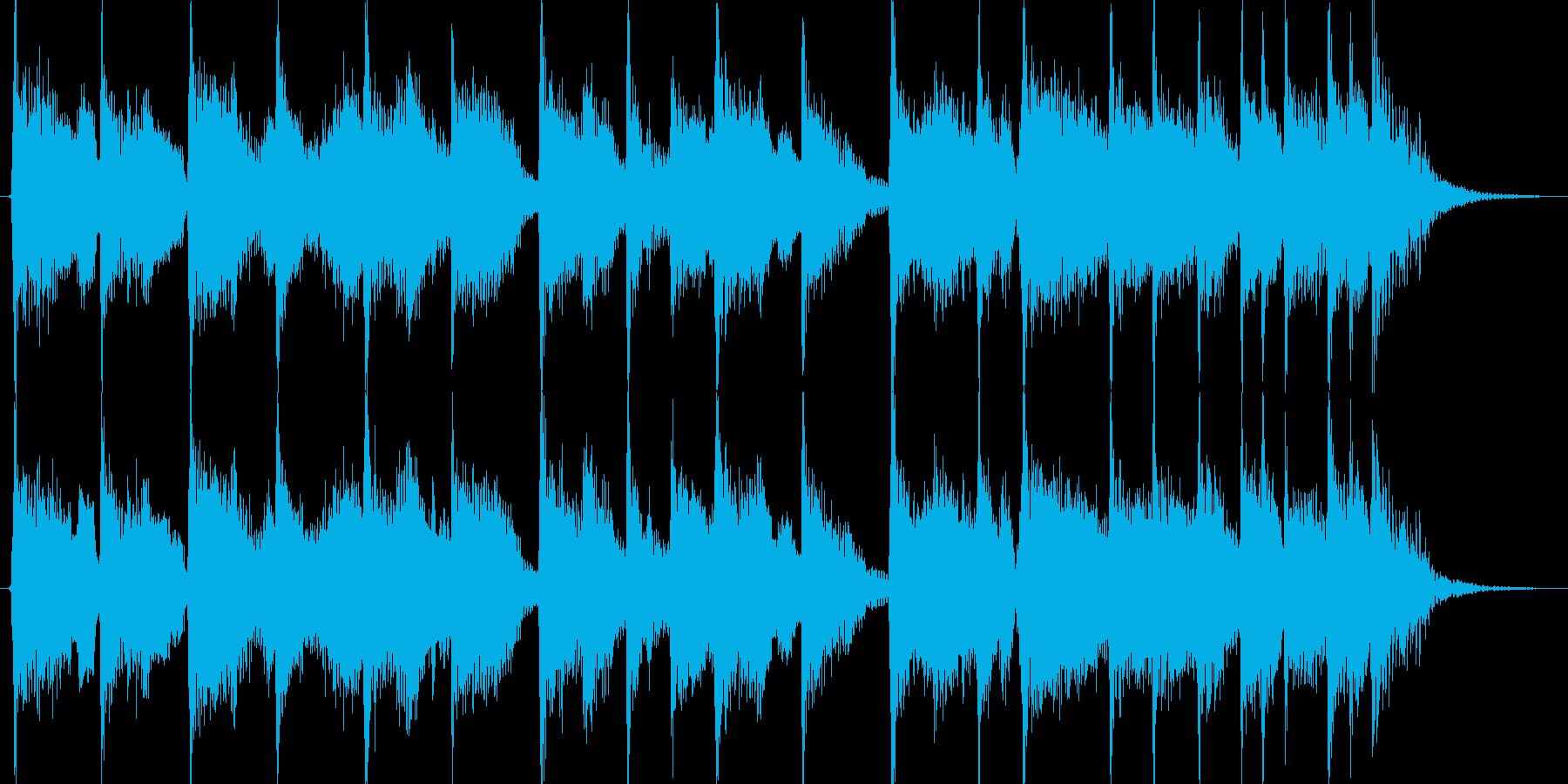 ブルースハープが特徴的なジングルの再生済みの波形