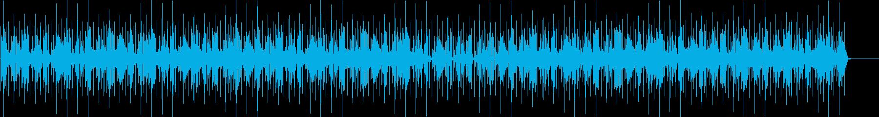 90年代アシッドジャズ風BGMの再生済みの波形