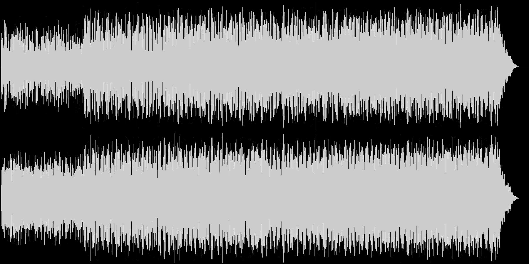 ラジオ用 テクノの未再生の波形