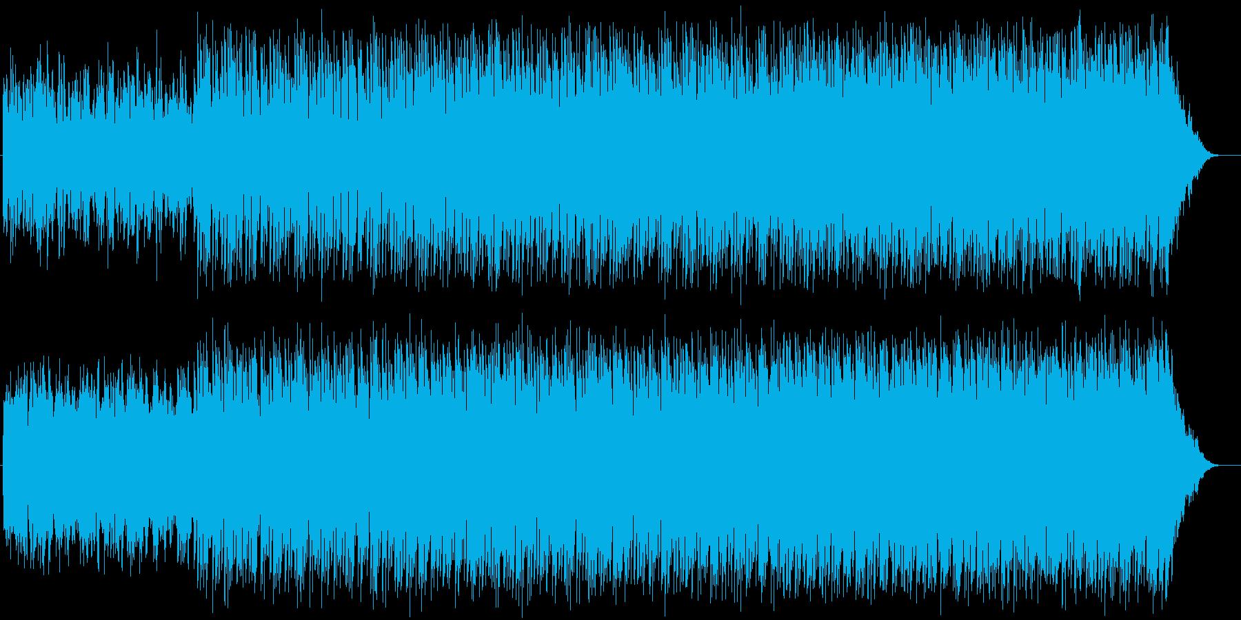 ラジオ用 テクノの再生済みの波形