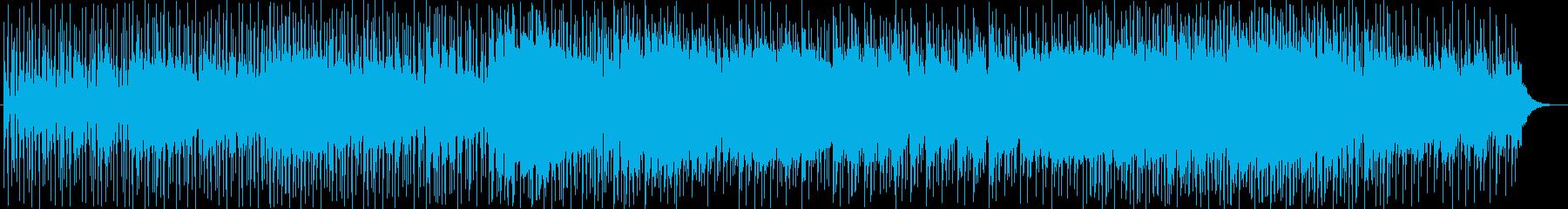 蒸気の漂う幻想的な洞窟のBGMです。ア…の再生済みの波形