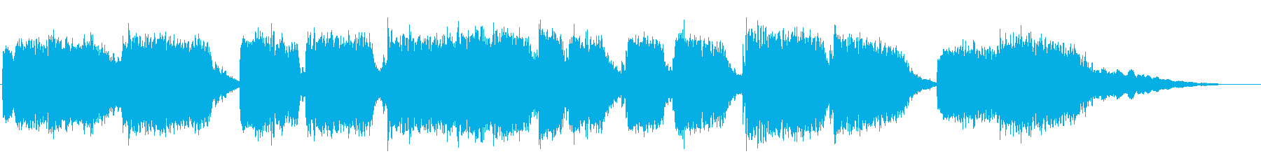美しく幻想的な民族音楽の再生済みの波形