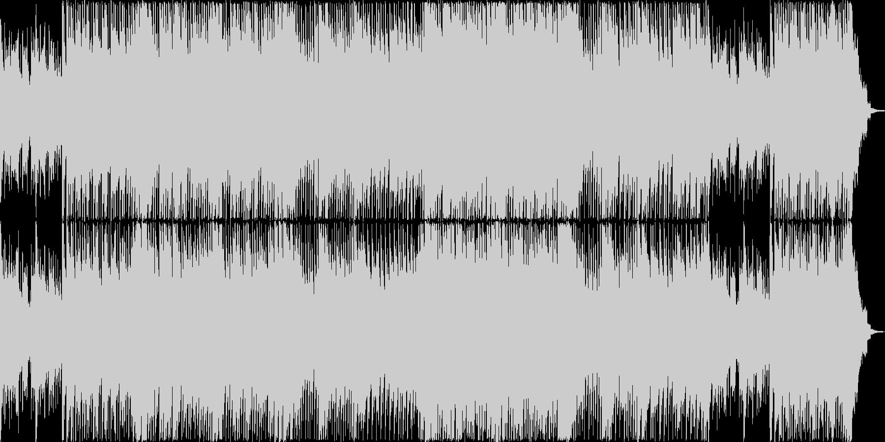 シンセのリフが懐かしいポップロックの未再生の波形