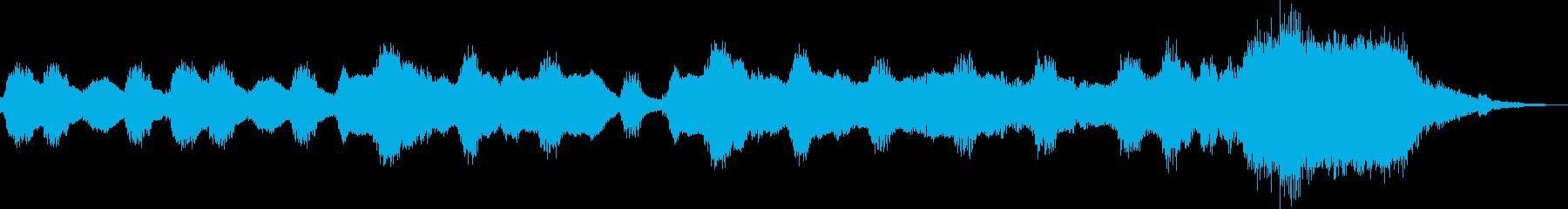 フルートが奏でるほのぼのジングル・前半の再生済みの波形