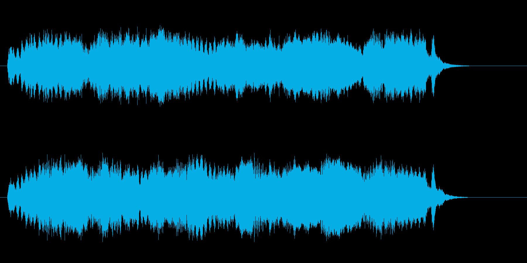 華麗でクラシカルなジングルの再生済みの波形