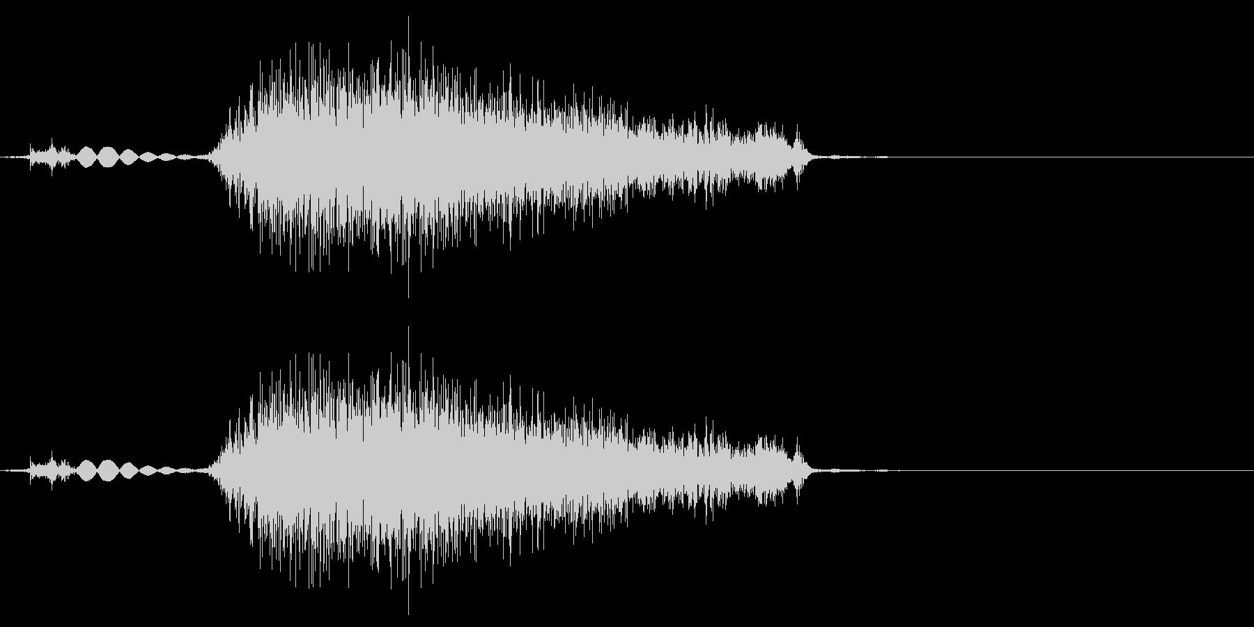 タブ切り替え時の音(紙を擦る音)_01の未再生の波形
