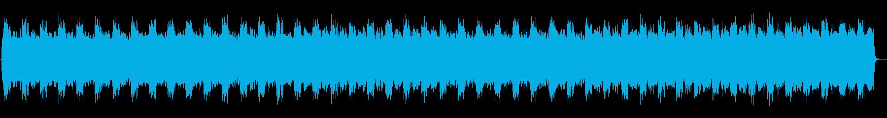 アップテンポのファンタジーな曲の再生済みの波形