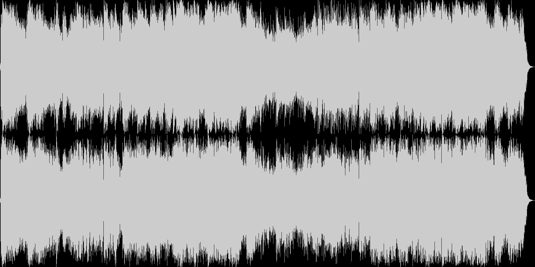 和風で二胡リードで自然が似合う曲です。の未再生の波形