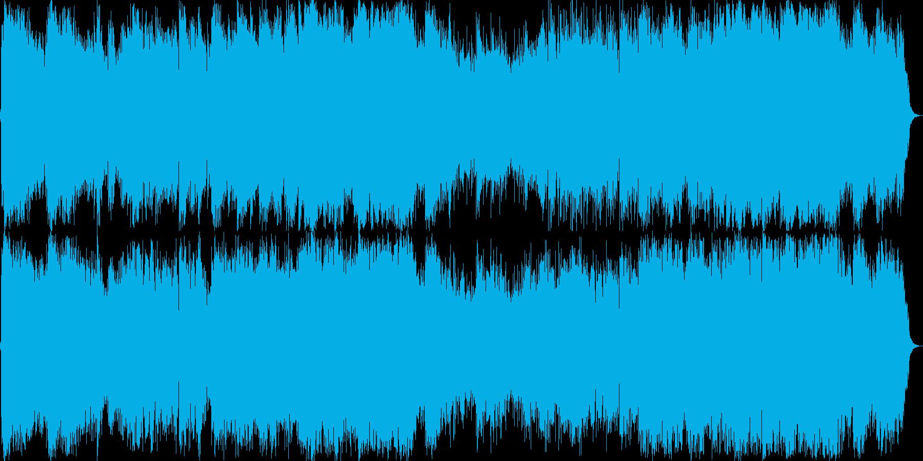 和風で二胡リードで自然が似合う曲です。の再生済みの波形