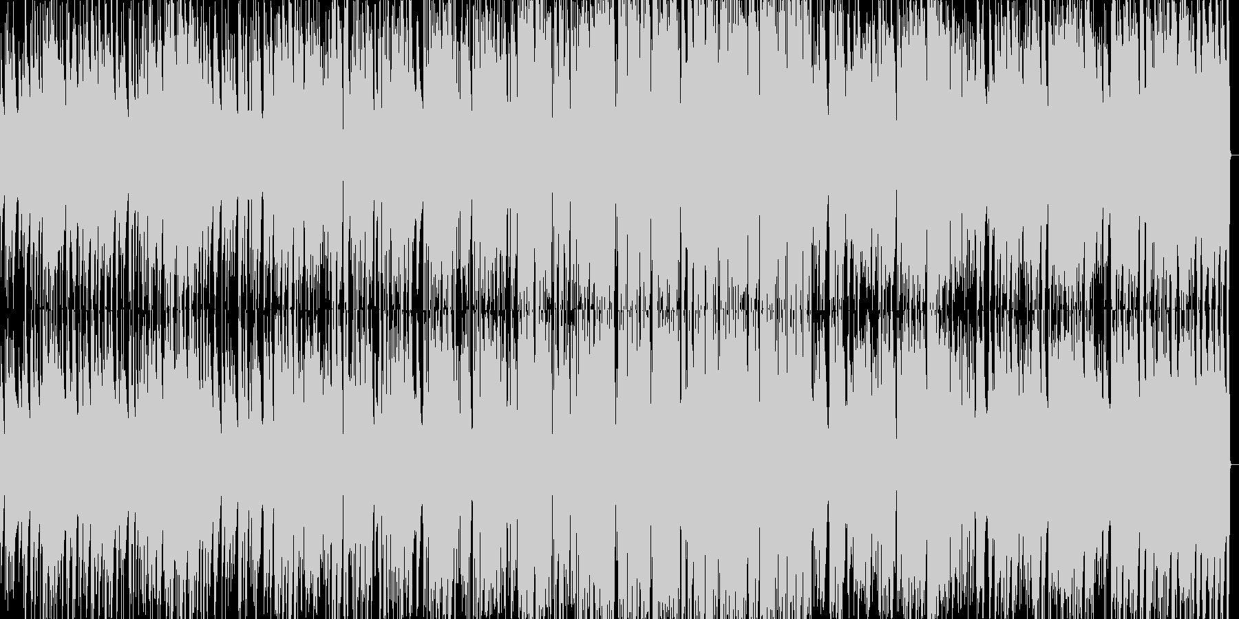 けだるい雰囲気のジャズピアノトリオの未再生の波形