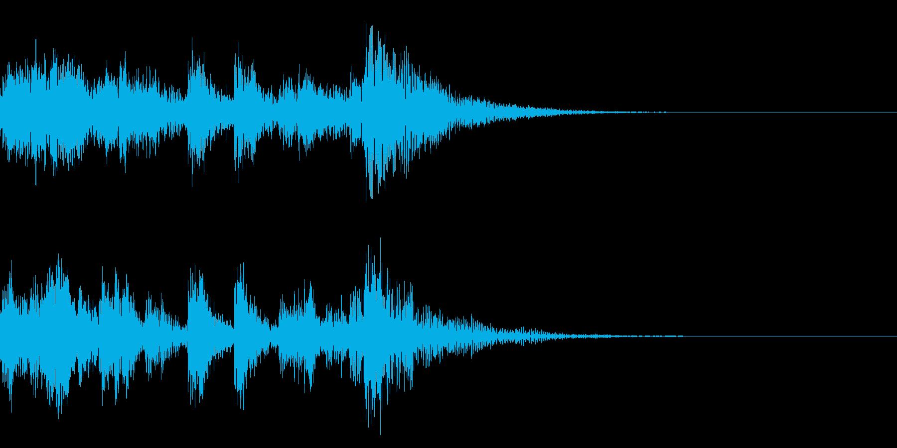 よお〜!ほ!/太鼓/歌舞伎ジングル13+の再生済みの波形