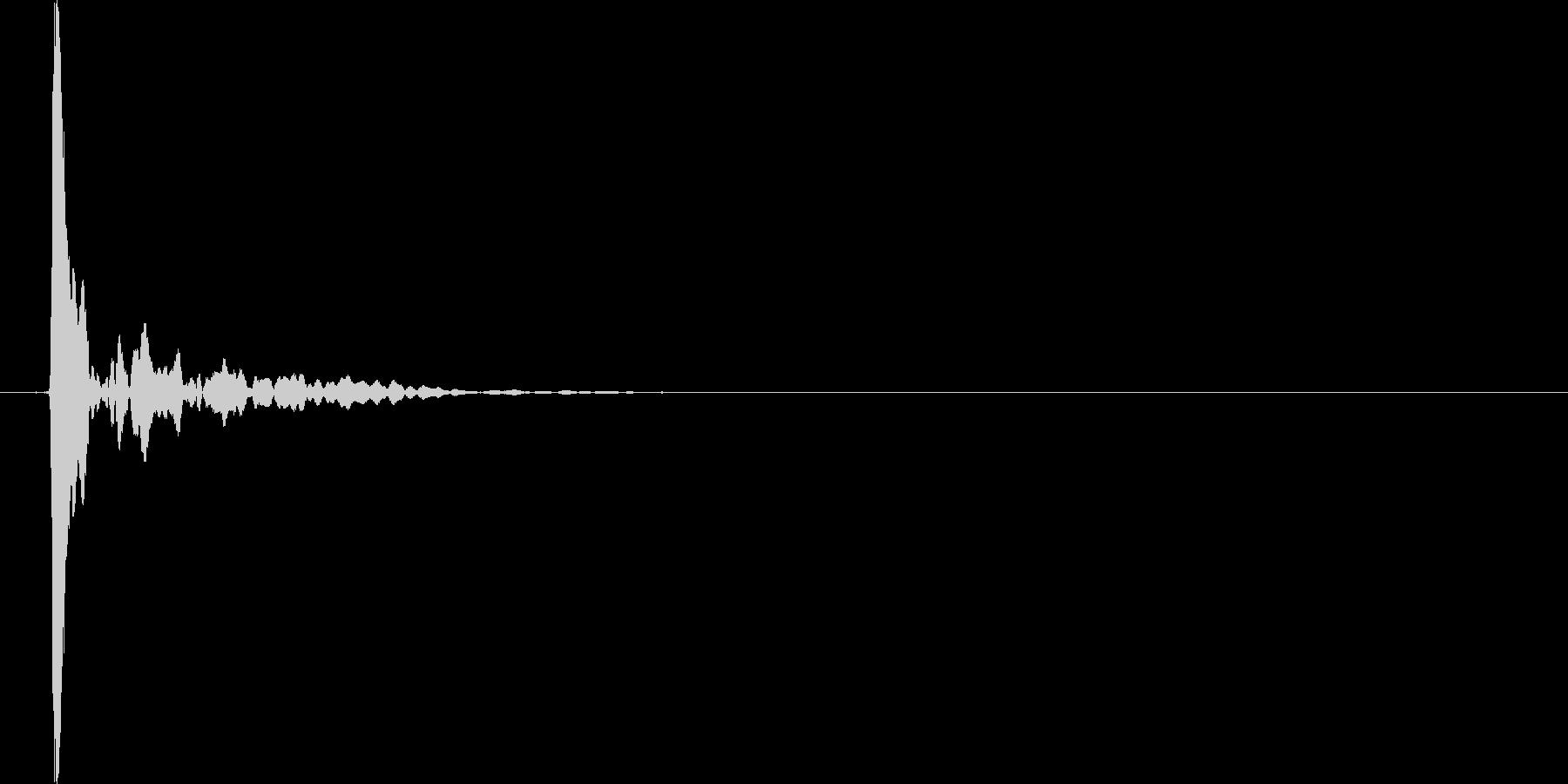 ポン(ポップアップやテロップ等の効果音)の未再生の波形