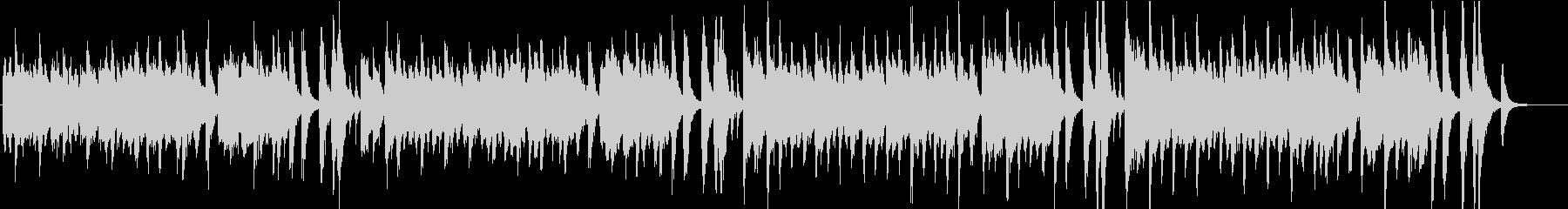 賑々しいデキシーランドのラグタイム音楽の未再生の波形