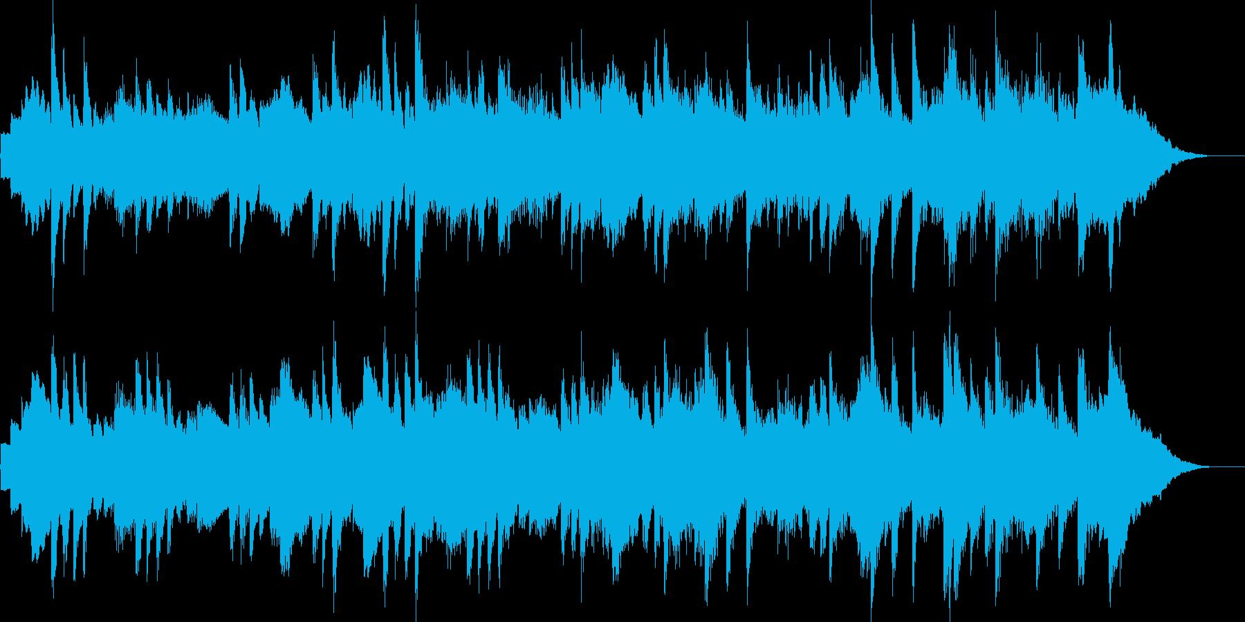 優しいピアノの音色をメインにしたブラン…の再生済みの波形