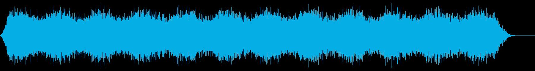 背景音 1 (雪山や洞窟などに)の再生済みの波形