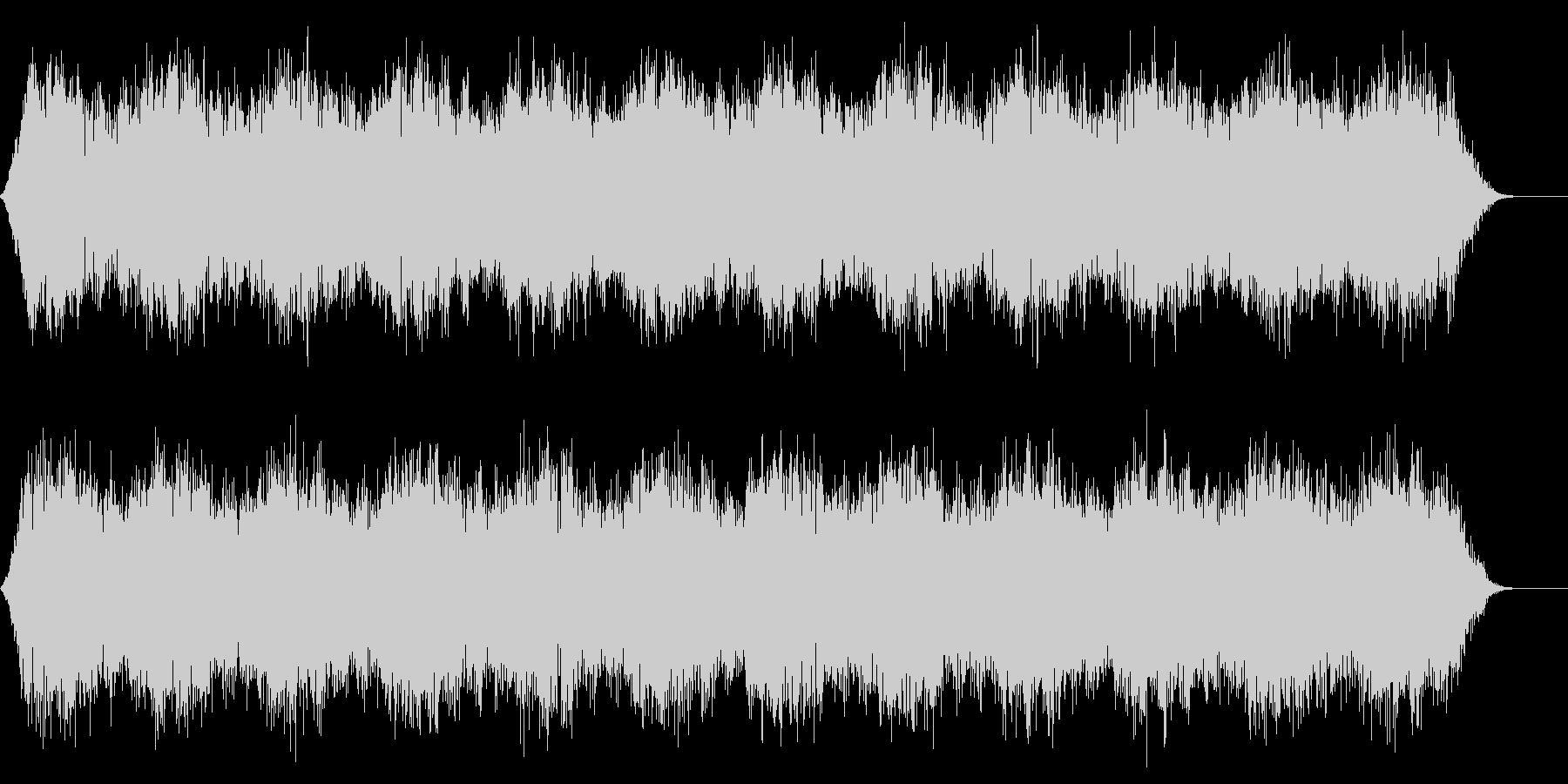 背景音 1 (雪山や洞窟などに)の未再生の波形