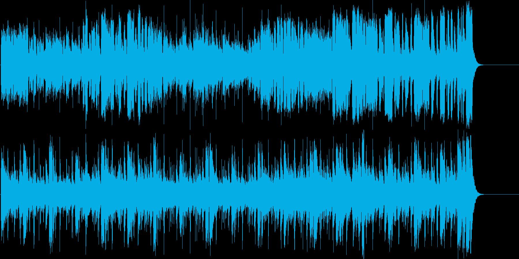 いきいきとした温かいほのぼのポップの再生済みの波形