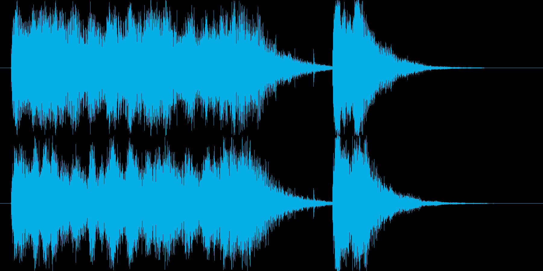 壮大なスペイン風フルオーケストラロゴの再生済みの波形