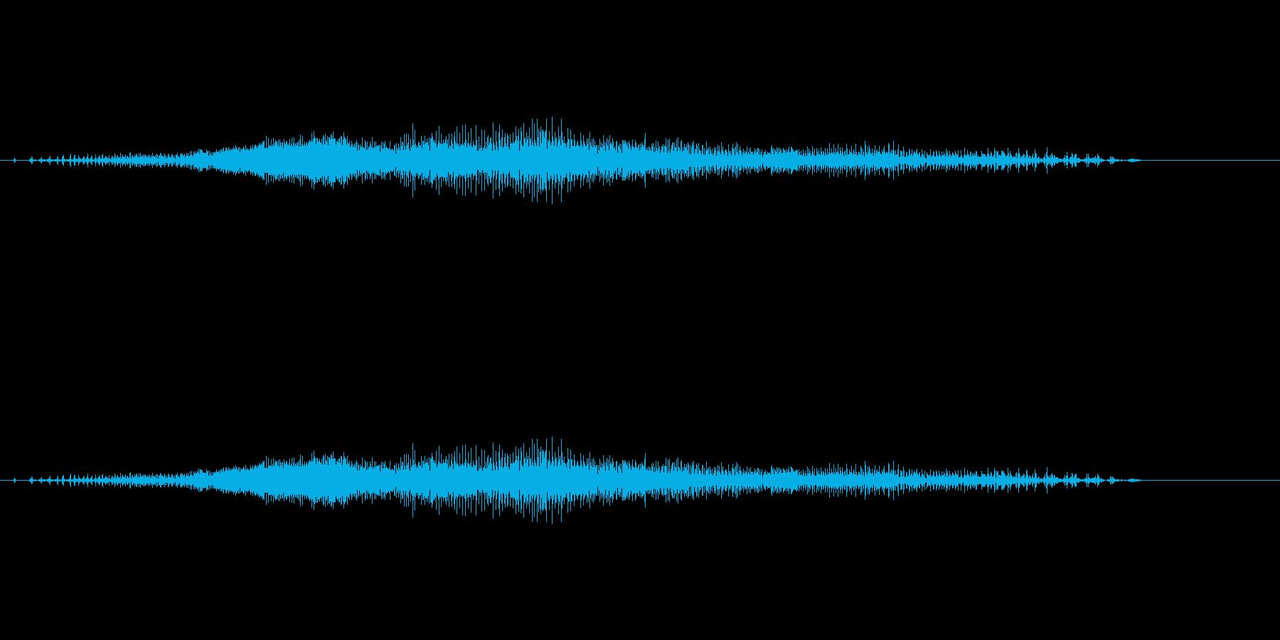 チャック_ファスナー_ジッパー開閉_09の再生済みの波形
