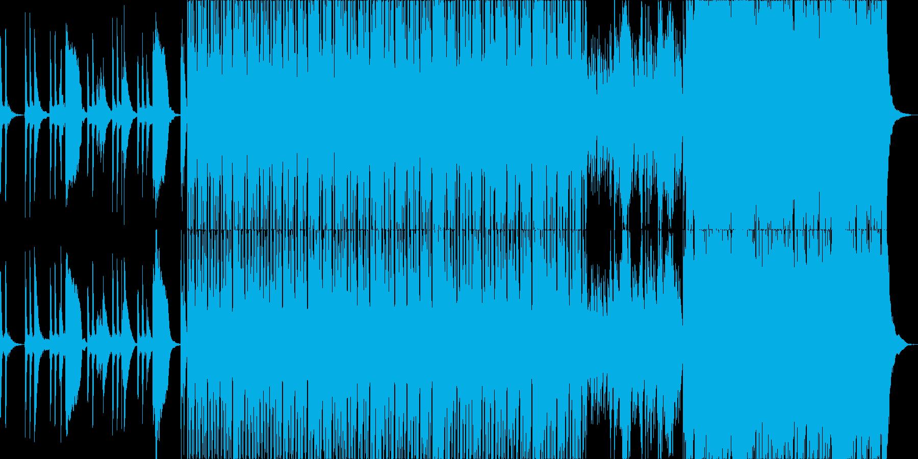 上品で透明感のあるラテン曲の再生済みの波形