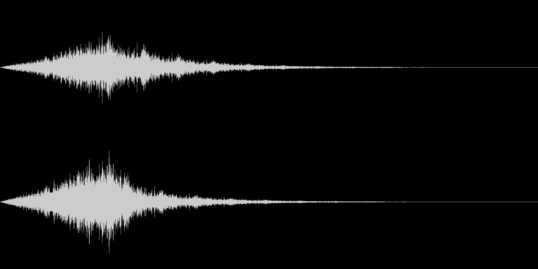 怖い音05の未再生の波形