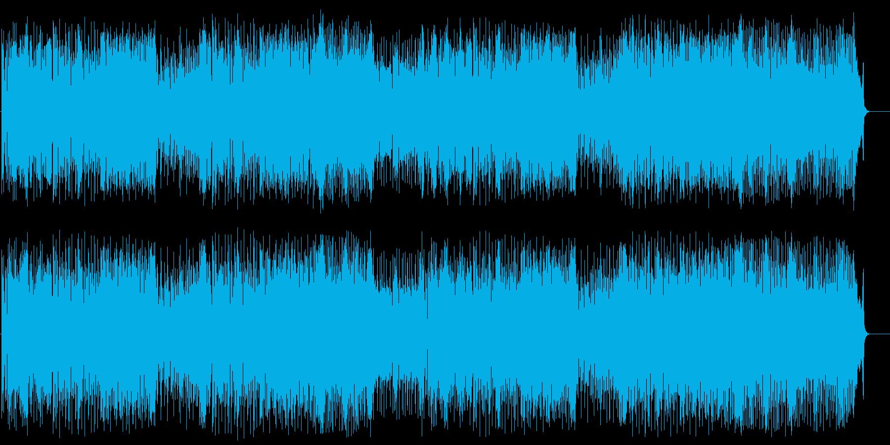 ハデなテクノ/ポップの再生済みの波形