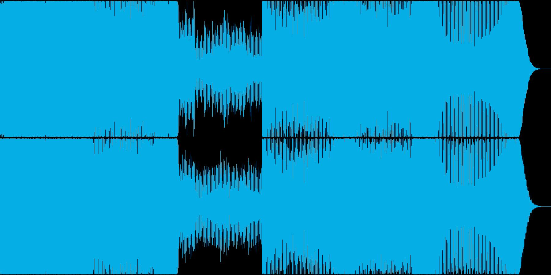 トランス ハウス 神秘的 EDM ゲームの再生済みの波形
