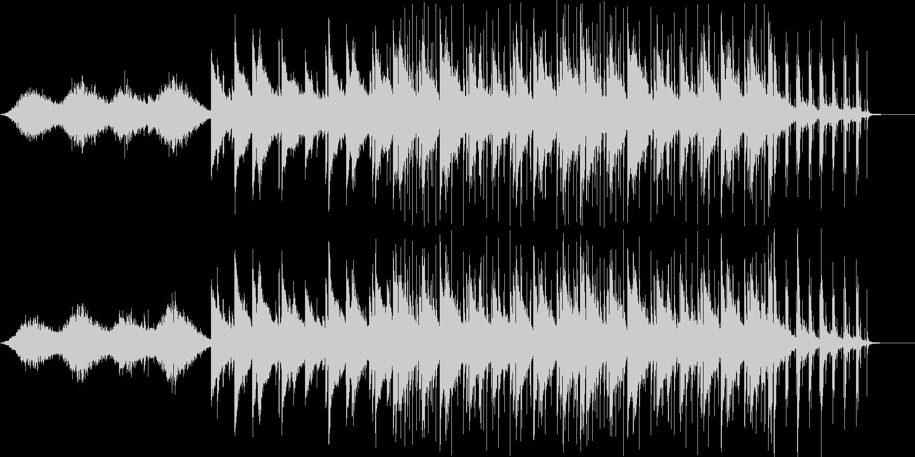 幻想的なピアノとのジャズセッションの未再生の波形
