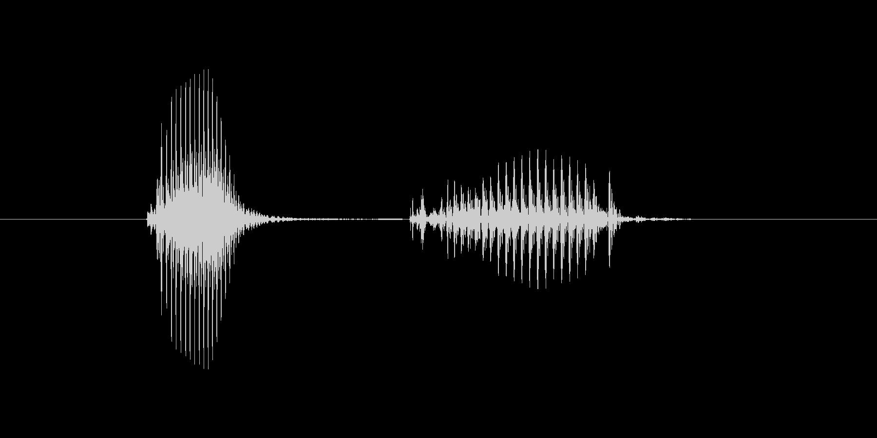 理科の未再生の波形