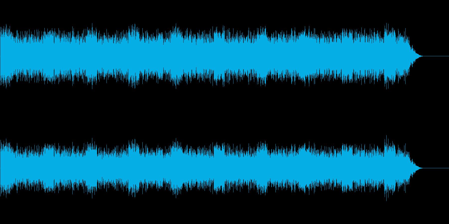 計器、コンピューターの故障シーンなどにの再生済みの波形