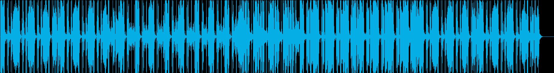 だるっとしたファンクの再生済みの波形