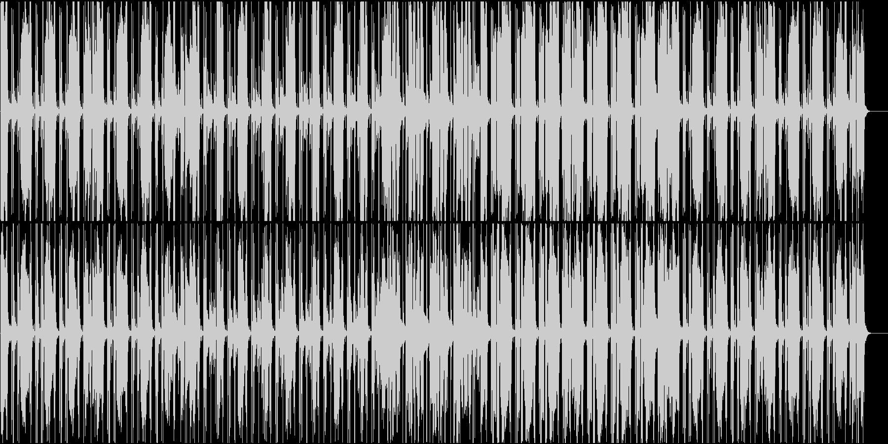 だるっとしたファンクの未再生の波形