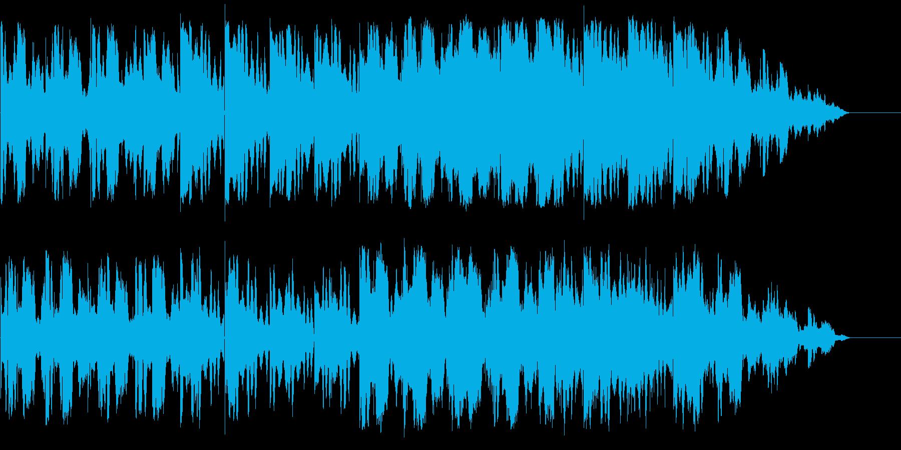 しっとりとして浮遊感のあるアンビエントの再生済みの波形