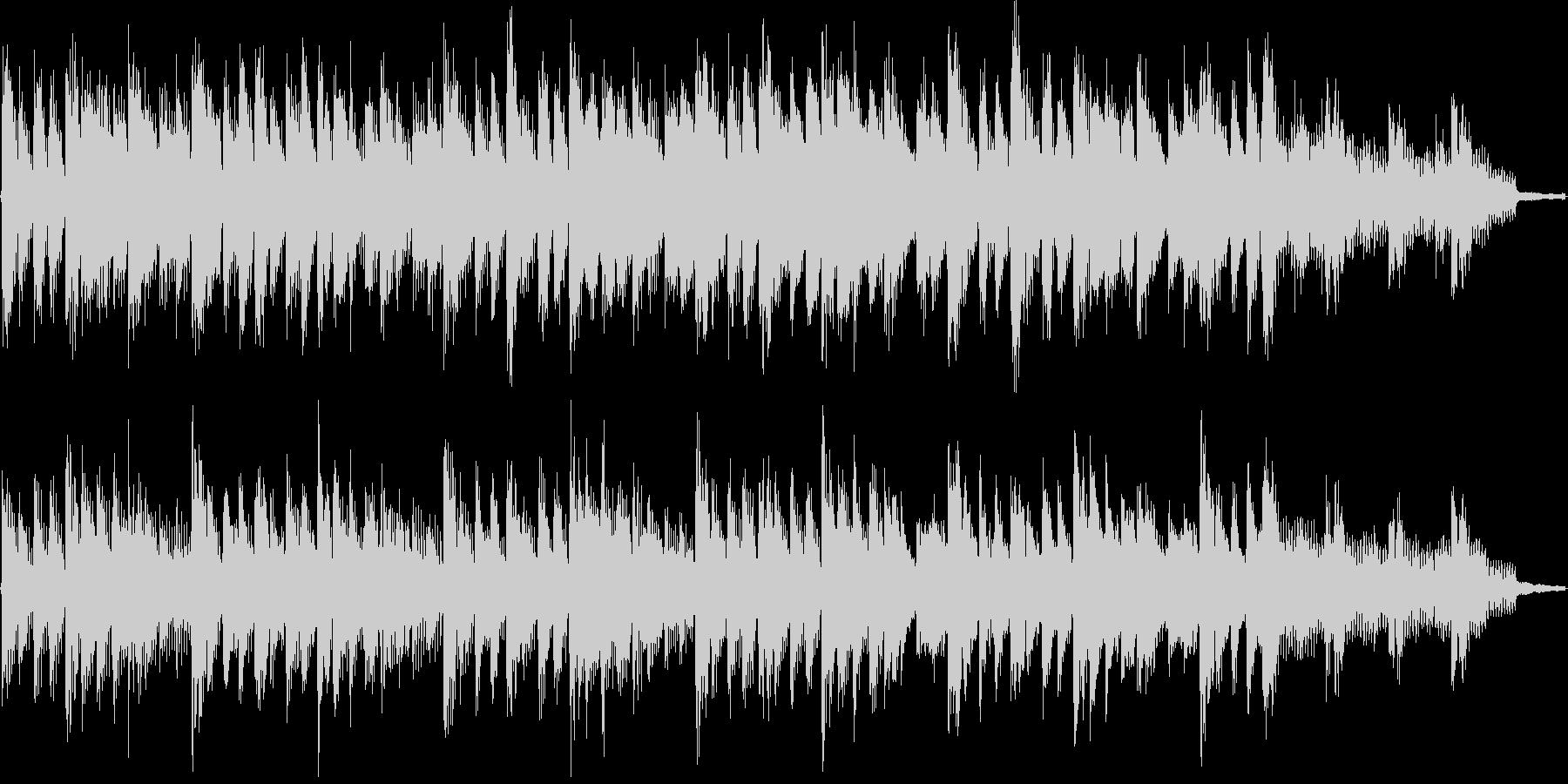 おしゃれで爽やかなシンプル15秒BGMの未再生の波形