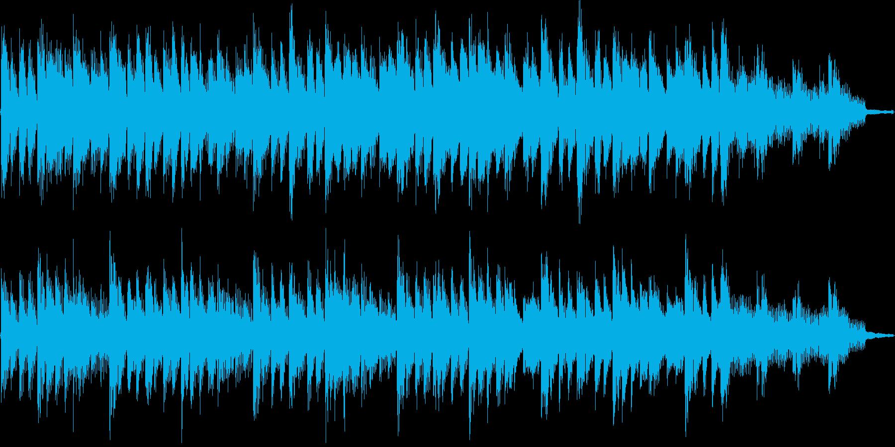 おしゃれで爽やかなシンプル15秒BGMの再生済みの波形