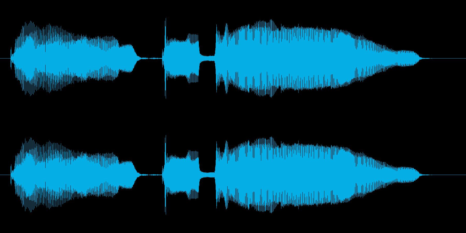 カウントダウン の再生済みの波形