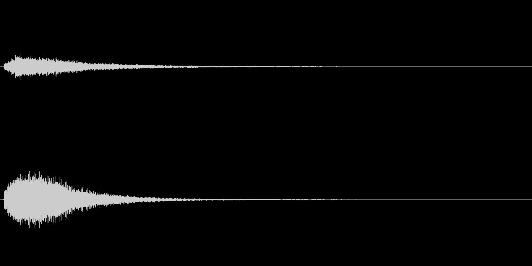 キラキラ系_036の未再生の波形