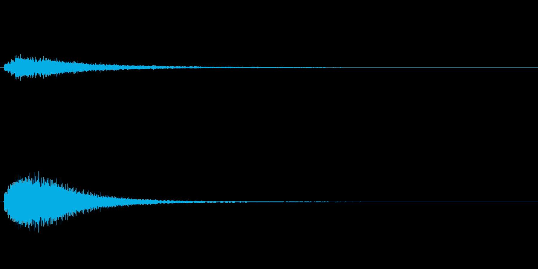 キラキラ系_036の再生済みの波形
