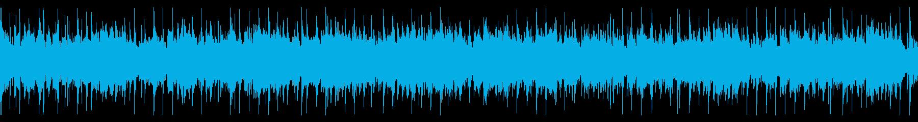 爽やかで前向きポップ(ループ仕様)の再生済みの波形