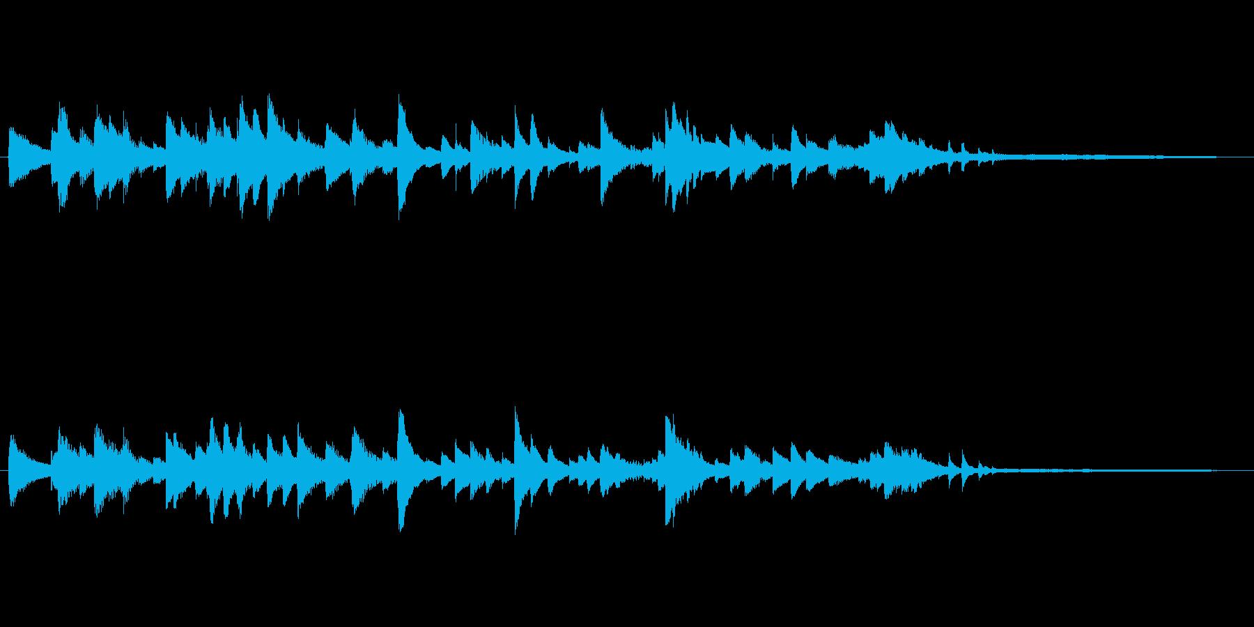 物語の終わりに合うエンディグ用ピアノソロの再生済みの波形