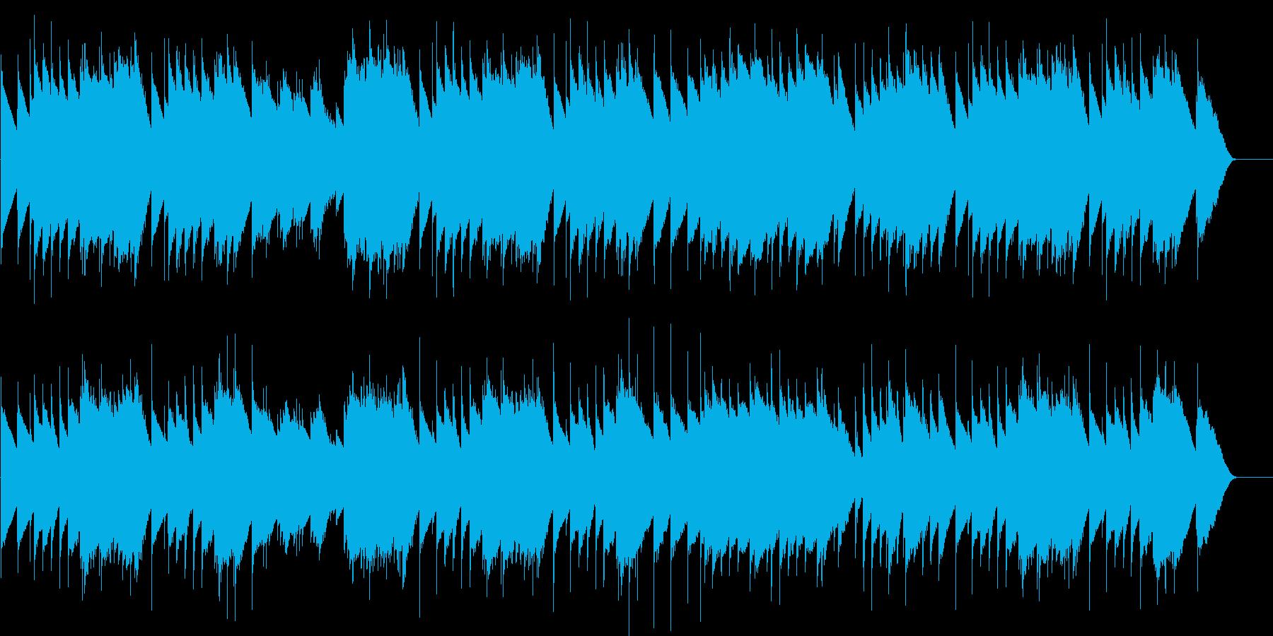 結婚行進曲 long (オルゴール)の再生済みの波形
