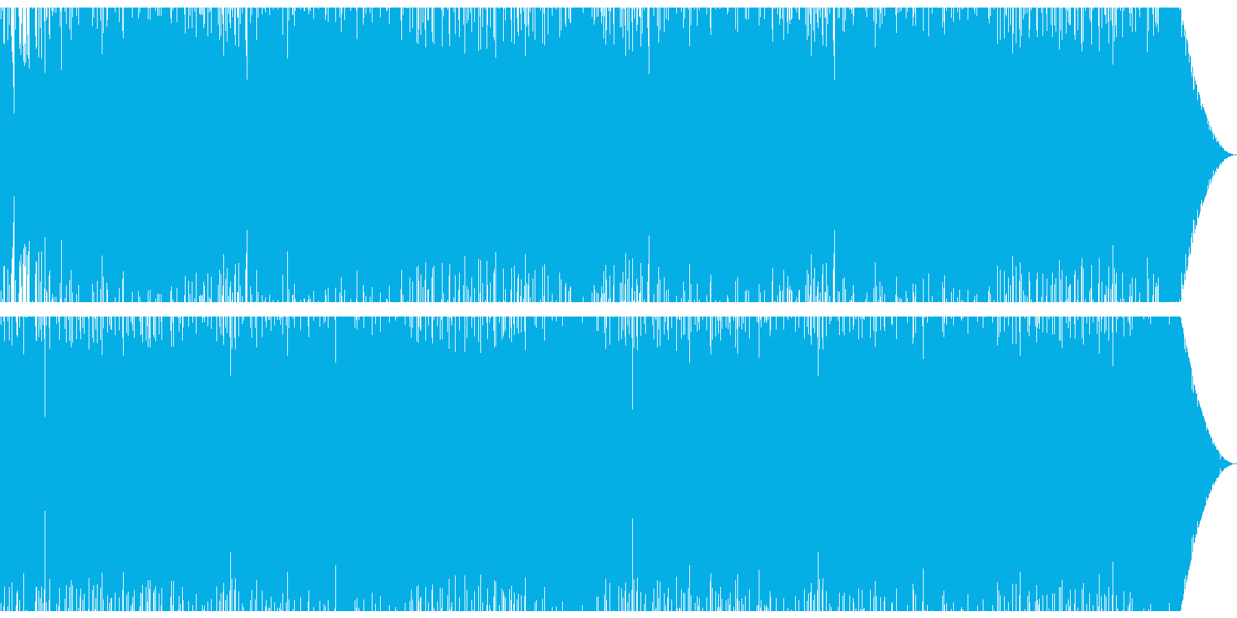 FM音源、ステージ、バトル向けの再生済みの波形